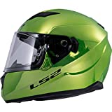 LS2 Helmets Unisex Adult Full Face Helmet Fallout Green X-Large
