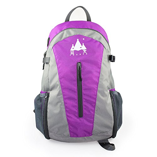 Kmise SP0011 TF Card Play Stereo Speaker Backpack With Longlife Time Technical Support Purple