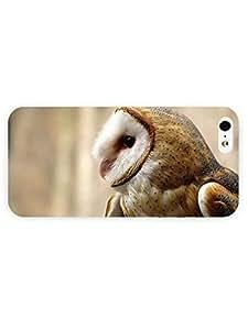 3d Full Wrap Case for iPhone 5/5s Animal Barn Owl5 5s5 5s