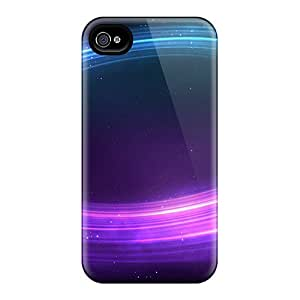 PkO4200mycE Phone Cases With Fashionable Look For Iphone 6 - Colorful Space Vortex Background