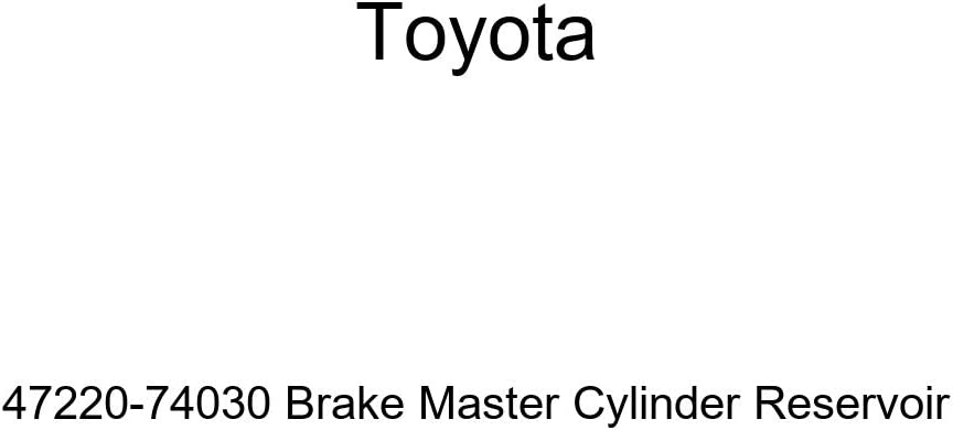 Toyota 47220-74030 Brake Master Cylinder Reservoir