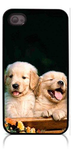 HeartCase Hard Case for Iphone 4 4G 4S (Golden Retriever Dog Pet )