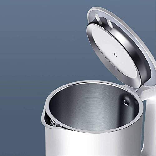 Bouilloire électrique Bouilloire électrique 1a Cuisine en Acier Inoxydable Isolation théière contrôle Intelligent de la température Protection Anti-surchauffe