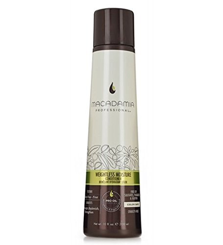 Macadamia Professional Weightless Moisture Conditioner - 10 oz. - Baby Fine to Fine Hair Textures - Lightweight Hydration - Sulfate, Gluten & Paraben Free, Safe for Color-Treated Hair by Macadamia Professional (Image #2)