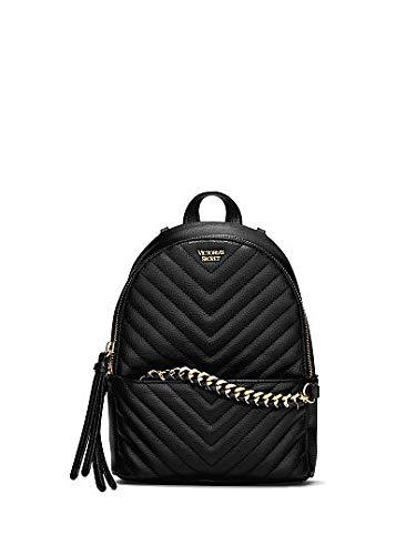 db13d7c157988 Victoria's Secret Pebbled V-Quilt Small City Backpack: Amazon.co.uk ...