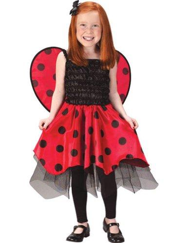 Lady Bug with Wings Toddler / Child Costume, Medium (4-6) (Ladybug Costume For Toddler)