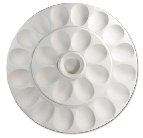 (XL Round Deviled Egg Tray - Fusible Glass Slumping Mold)