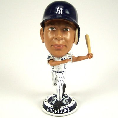 NEW YORK YANKEES ALEX ROGRIGUEZ OFFICIAL MLB BOBBLEHEAD BOBBLE by FOREVER