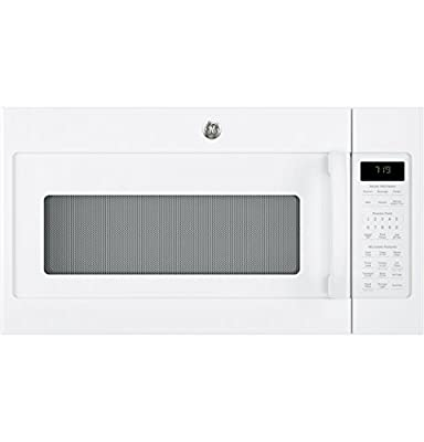 """GE JVM7195DKWW 30"""" Over-the-Range Microwave Oven in White"""