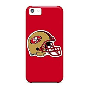 Hot Design Premium EnA10812IDkK Tpu Cases Covers Iphone 5c Protection Cases(san Francisco 49ers 2)