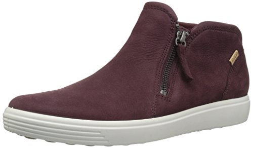 Femme Ecco Bottines Ladies Soft 7 bordeaux 1070 Rouge tIqIS7wxr