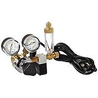 Regulador de presión de flujo ajustable de CO2 de válvula doble MA957 de Milwaukee Instruments, lectura dual psi y kg /cm