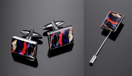 andy-warhol-by-troika-shiny-imitation-rhodium-shoes-mens-jewelry-set-includes-cufflinks-and-tie-pin