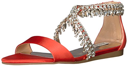 Badgley Mischka Women's Tristen Dress Sandal, Coral, 8.5 M US by Badgley Mischka