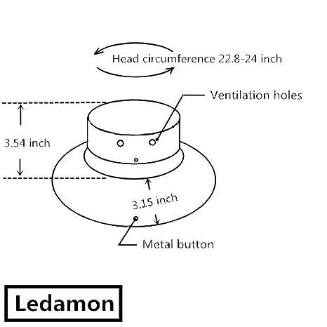 755058a2881c30 Ledamon Men's Sun Hat Fisherman Hat UV Protection Outdoor Hiking Fishing  Washed Cotton Hat (Blue) at Amazon Men's Clothing store: