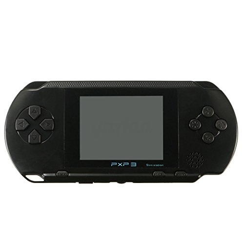 Price comparison product image Phantomx PXP 3 MD-2700 Portable 16 Bit Fast Video Game Console Classic Retro Games