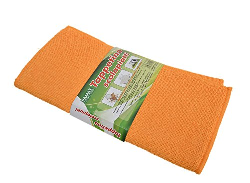 Betwoo 12 by 16-Inch Microfiber Dish Drying Mat/Pad 2 Pack