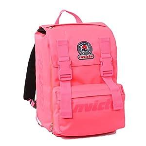 222d89eb5b Zaino scuola sdoppiabile Big – INVICTA LOGO FLASH – estensibile 28 LT –  Rosa – elementari e medie