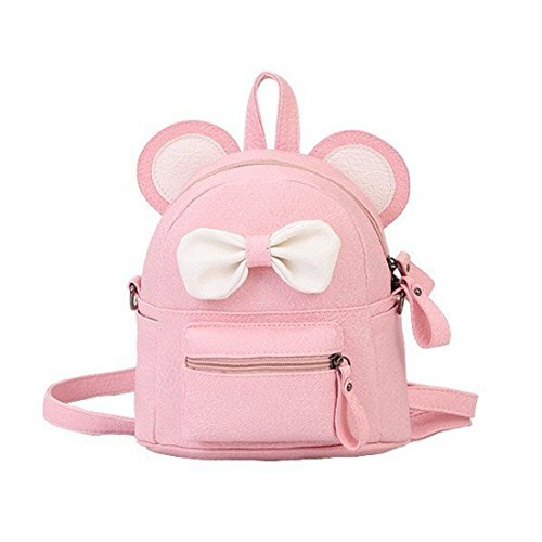 Jual LA CHA Girls Mini Cute Cat PU Leather Backpack Purse -  03c7b375b113f
