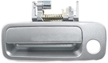 2 Black Outside Gray Inside Front Right Door Handle for 97-01 TOYOTA CAMRY