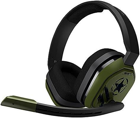 ASTRO Gaming A10 - Auriculares Gaming con Cable Call of Duty, Astro Audio, Peso Ligero, Resistente, 3.5 mm Audio Jack, Control Integrado en el Cable, Micrófono Volteable, PC/Mac/Xbox One/PS4: Amazon.es: Informática