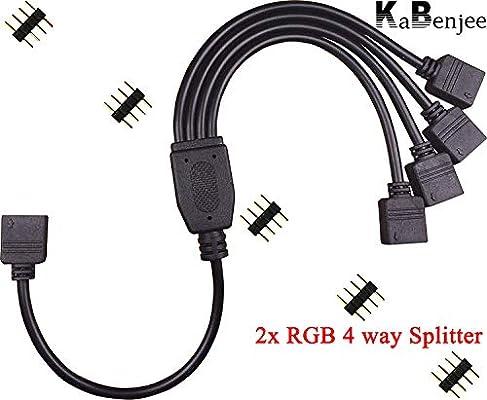 Watercool Y-Cable 1x 4Pin RGB to 2X 4Pin RGB