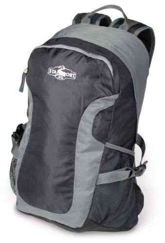 lon Day Pack, Black/Grey, 17 x 11 x 5-Inch (Cardinal Daypack)