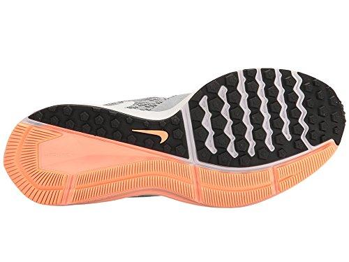 Nike Frauen Zoom Winflo 4 Laufschuh Grau / Orange-m