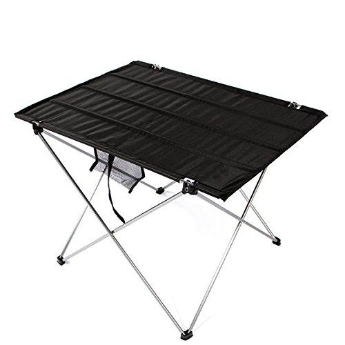 winnerbe portátil plegable mesa de picnic barbacoa luz peso ...