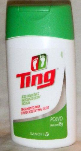 Ting Powder Antifungal Aids for Athletes Foot & Bacteria Antiseptic 85g - Ting Antifungal