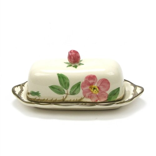 Desert Rose by Franciscan, China Butter Dish