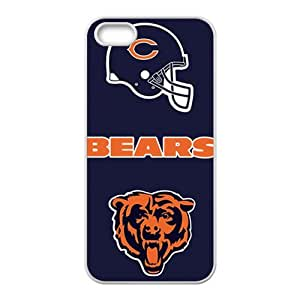 HWGL Chicago Bears Cell Phone Case for Iphone 5s