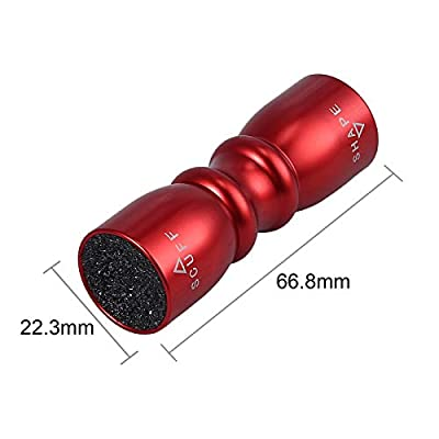 3 in 1 Snooker Pool Cue Tip Tool Billiard Cue Accessories Shaper/Scuffer/Aerator - Red Wine : Sports & Outdoors