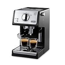 """Delonghi ECP3220 Bar Pump Espresso and Cappuccino Machine, 15"""", Black"""