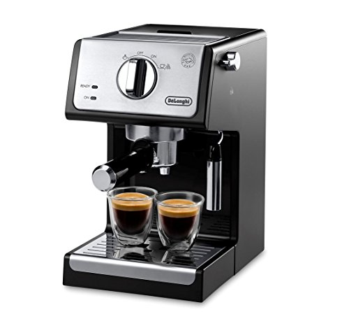 De'Longhi ECP3420 15' Bar Pump Espresso and Cappuccino Machine, Black