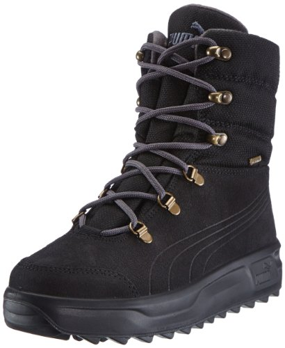 Puma Borrasca Iii Gtx® Jr - Botas de nieve Black/Dark Shadow/Bronze 7