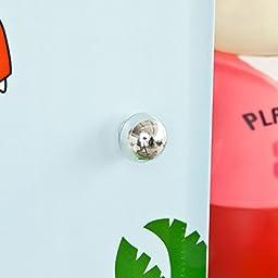 Haotian DIY 9 Cubes with Doors-Dinosaur, Children Storage Unit, Interlocking Cube Organiser Cabinet Wardrobe, FSS49