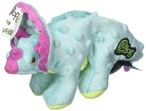 goDog Dinos Triceratops with Chew Guard Technology Plush Squ