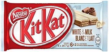 Nestlé KIT KAT 2 Finger White & Milk Chocolate, 6 Bars