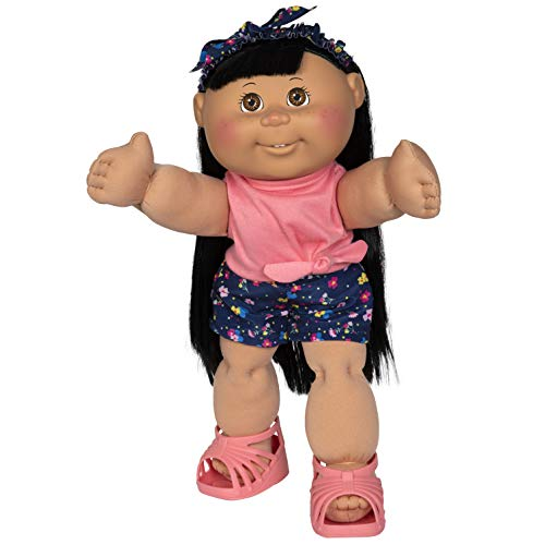 "Cabbage Patch Kids New 14"" Doll - Girl in Flower Outfit"