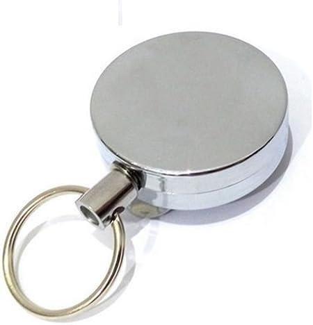 TONOSEVILLA Llavero Extensible POLICIA Guardia Civil Conserje Cable Seguridad: Amazon.es: Hogar