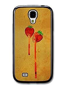 Strawberry Leaking Original Art Illustration case for Samsung Galaxy S4