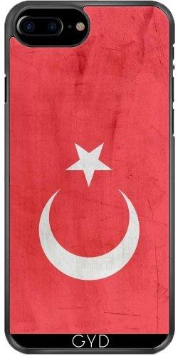 Coque pour Iphone 7 Plus / 8 Plus (5,5'') - Drapeau Turquie by wamdesign
