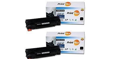 2-Pack High Yield New Compatible CE285A (85A) CB435A (35A) CB436A (36A) Premium Black Replacement Toner Cartridge For HP LaserJet M1212/P1102/1214/1217 LJ1005/1006/M1120/1522 Printers