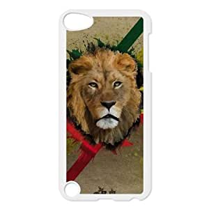 iPod Touch 5 Case White The Lion of Judah Ggltj
