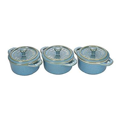 Staub Mini Round Ceramic Cocotte Sets