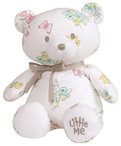 "Baby GUND x Little Me Meadow Floral Teddy Bear Stuffed Animal Plush, 10"" from GUND"