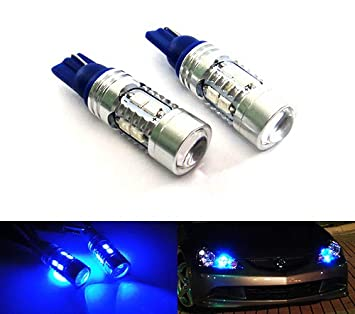 Licence Plate Light Bulbs Upgrade Lamps 2x 501 White 1-SMD LED Number