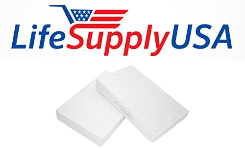 Bale of 2 Air Purifier Filters to fit Honeywell HRF-R2 Air Purifier Filters Fit HPA-090, HPA-100, HPA200 & HPA300 Series, By LifeSupplyUSA