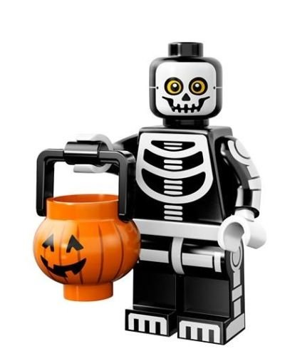 LEGO Collectible MiniFigures: Series 14: #11 - Skeleton Guy (Sealed Pack!) >>> Halloween Haunted House Decoration Toy
